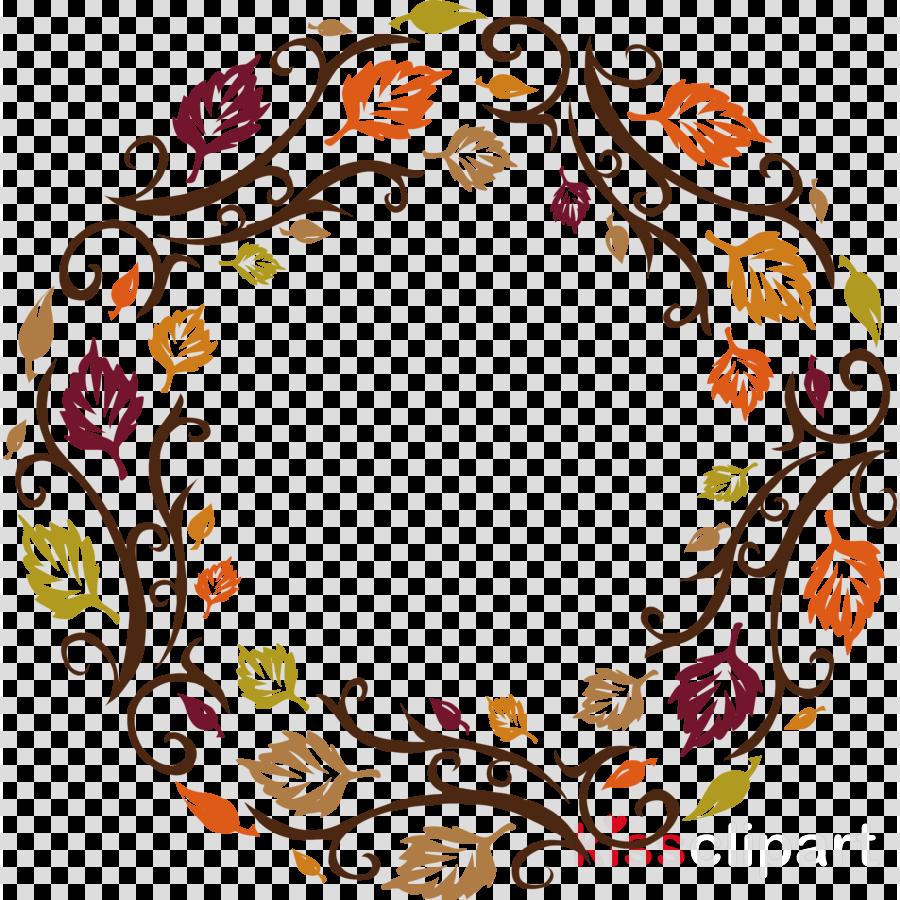 Autumn frame nature frame
