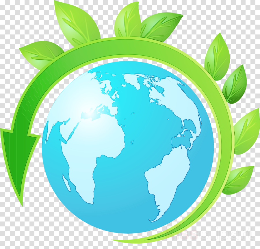 green earth world logo circle