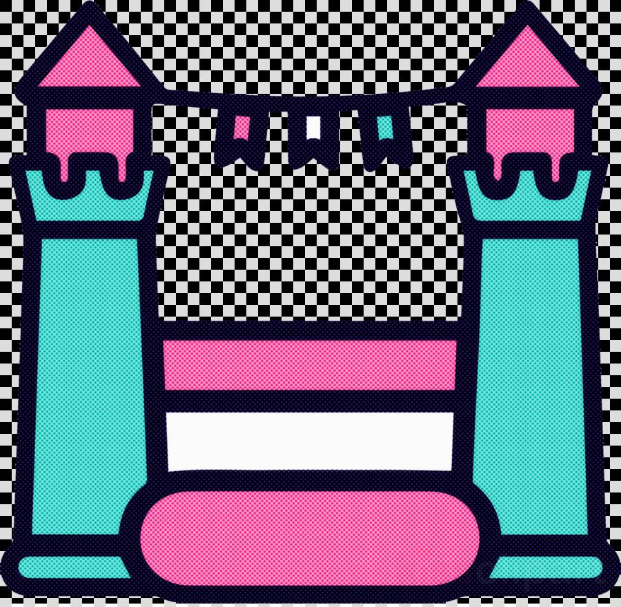 pink line magenta rectangle