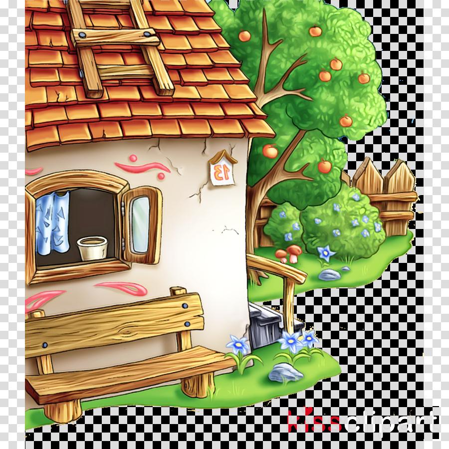cartoon tree house tree house room