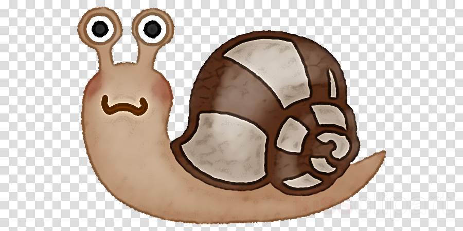 cartoon brown snail snails and slugs