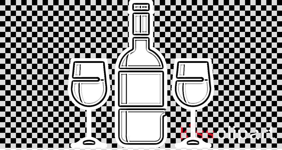 bottle wine bottle line glass bottle line art