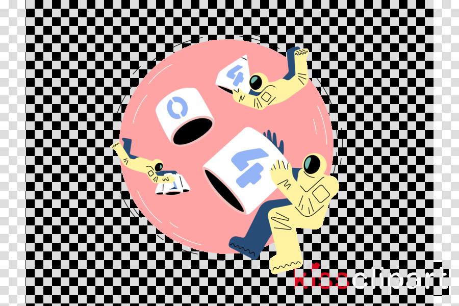 cartoon head pink nose snout