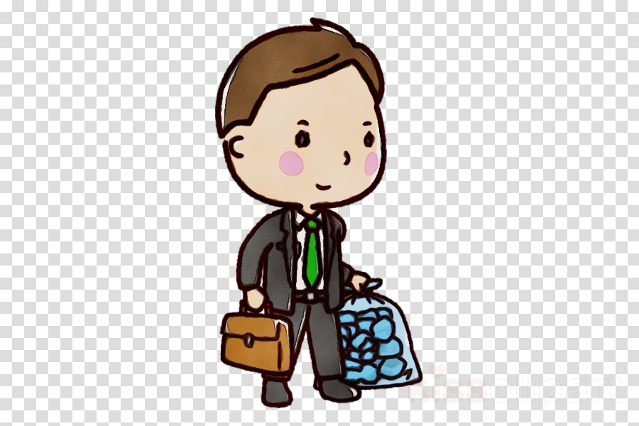 cartoon baggage
