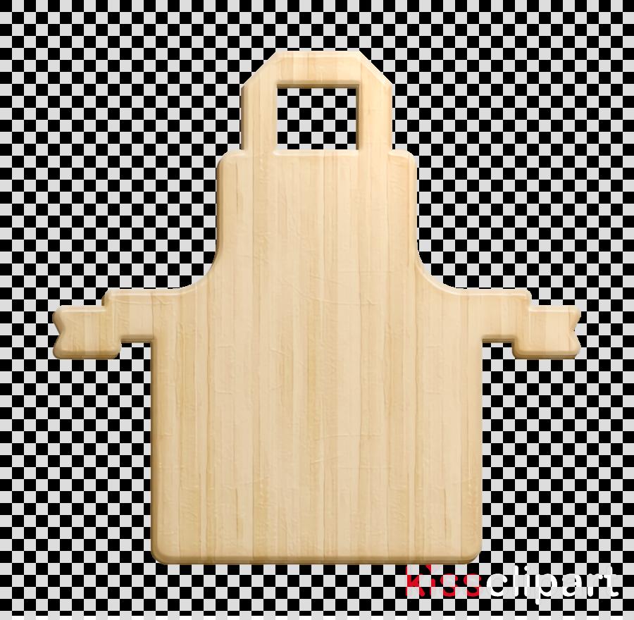 Butcher icon Apron icon