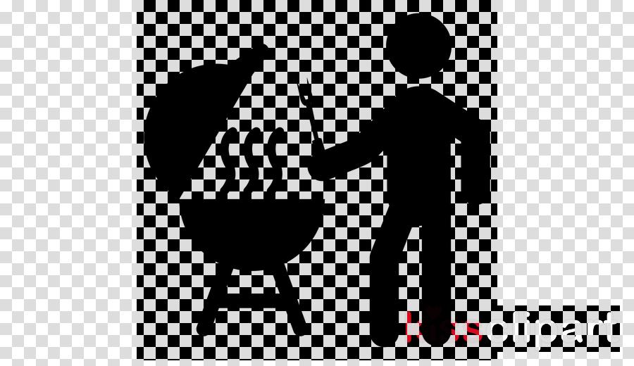 cartoon barbecue conversation logo font