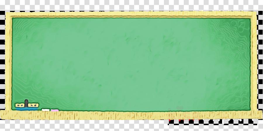 green blackboard rectangle wood table