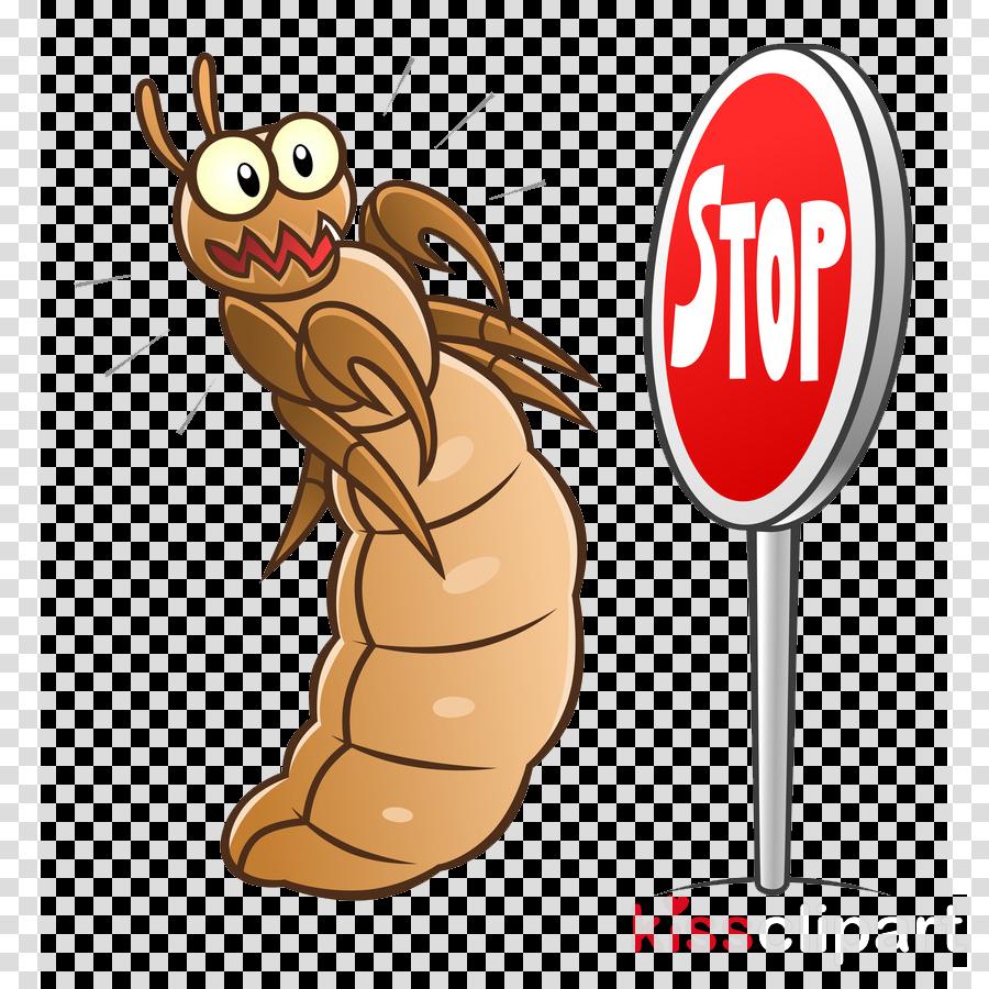 cartoon finger termite thumb fast food