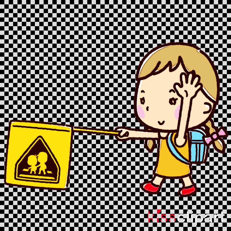 cartoon child