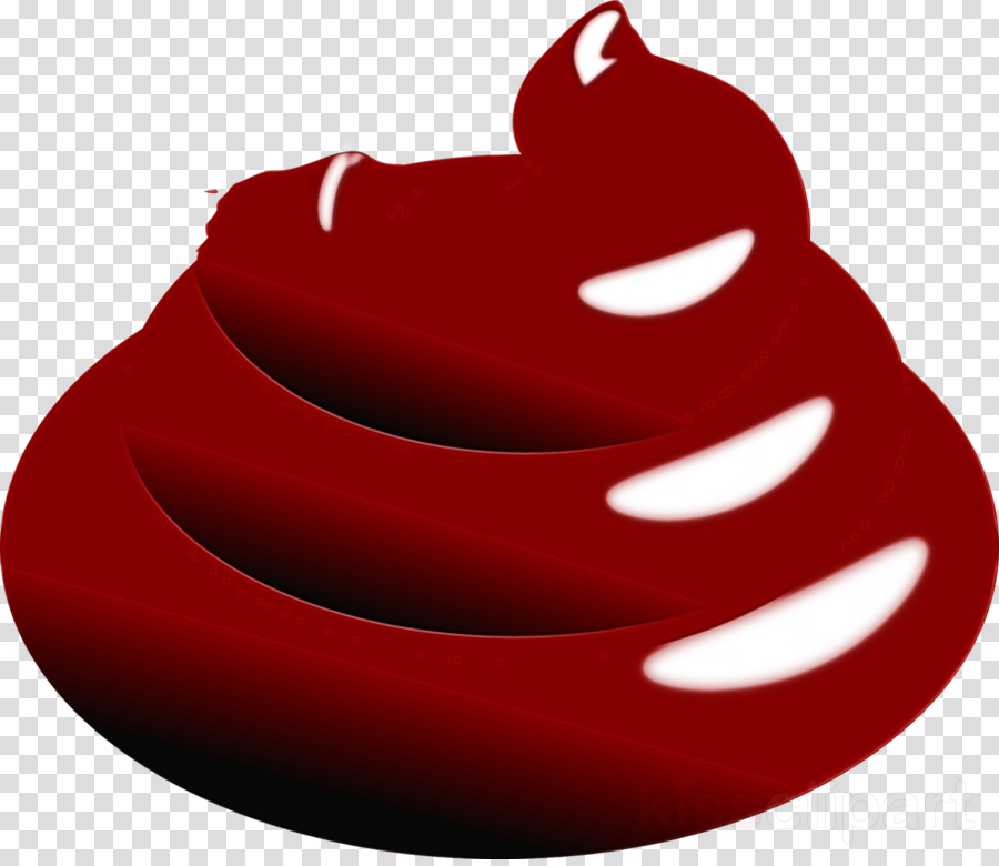 red lip mouth logo plant