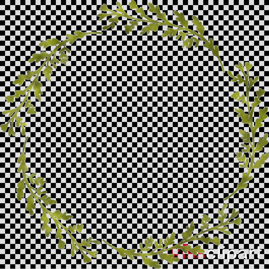 Floral Frame Flower Frame Monogram Frame