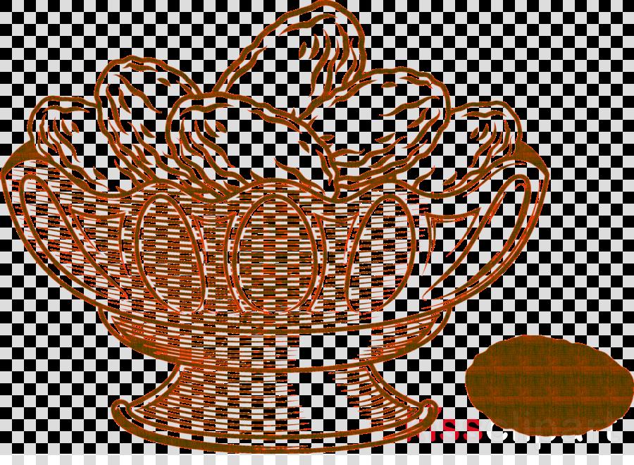 serveware tableware line art