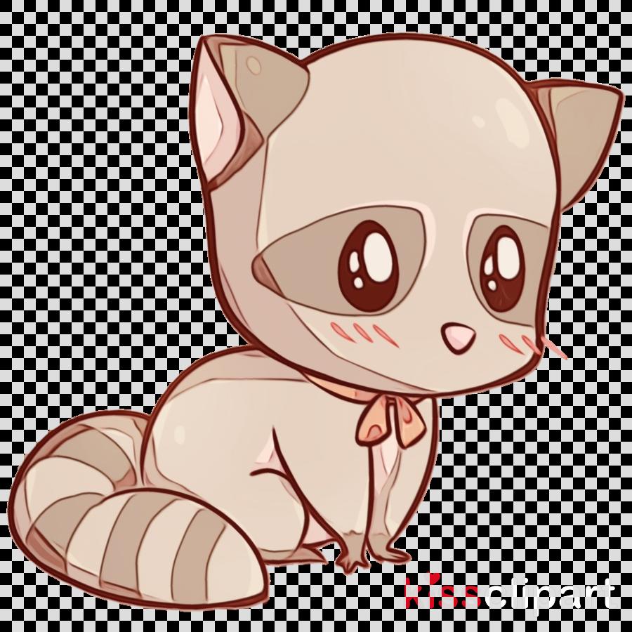cartoon nose tail snout cat