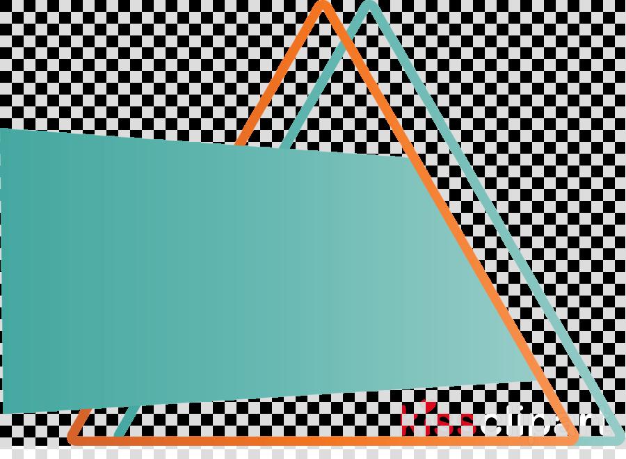 turquoise line teal aqua triangle