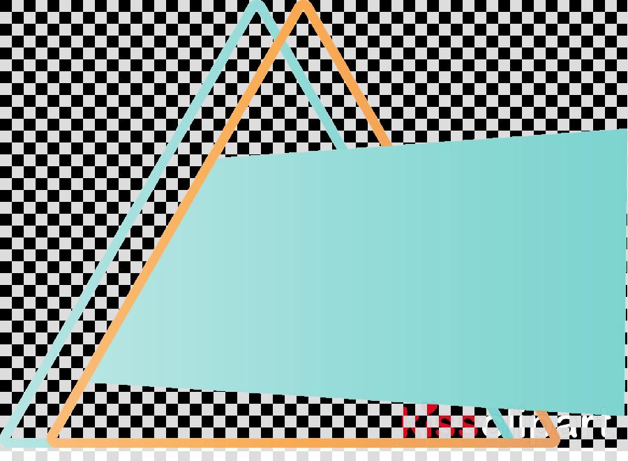 aqua turquoise line teal triangle