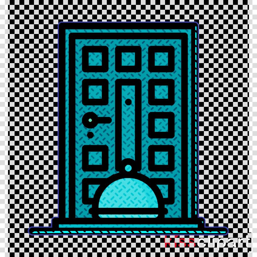 Food Delivery icon Door icon Food delivery icon