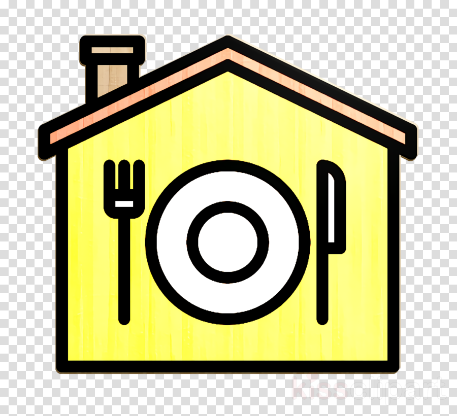 Dish Icon Home Delivery Icon Food Delivery Icon Clipart Restaurant Garage Door Hotel Transparent Clip Art