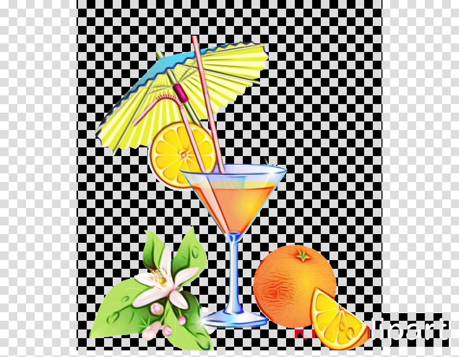 cocktail garnish martini harvey wallbanger mai tai non-alcoholic drink