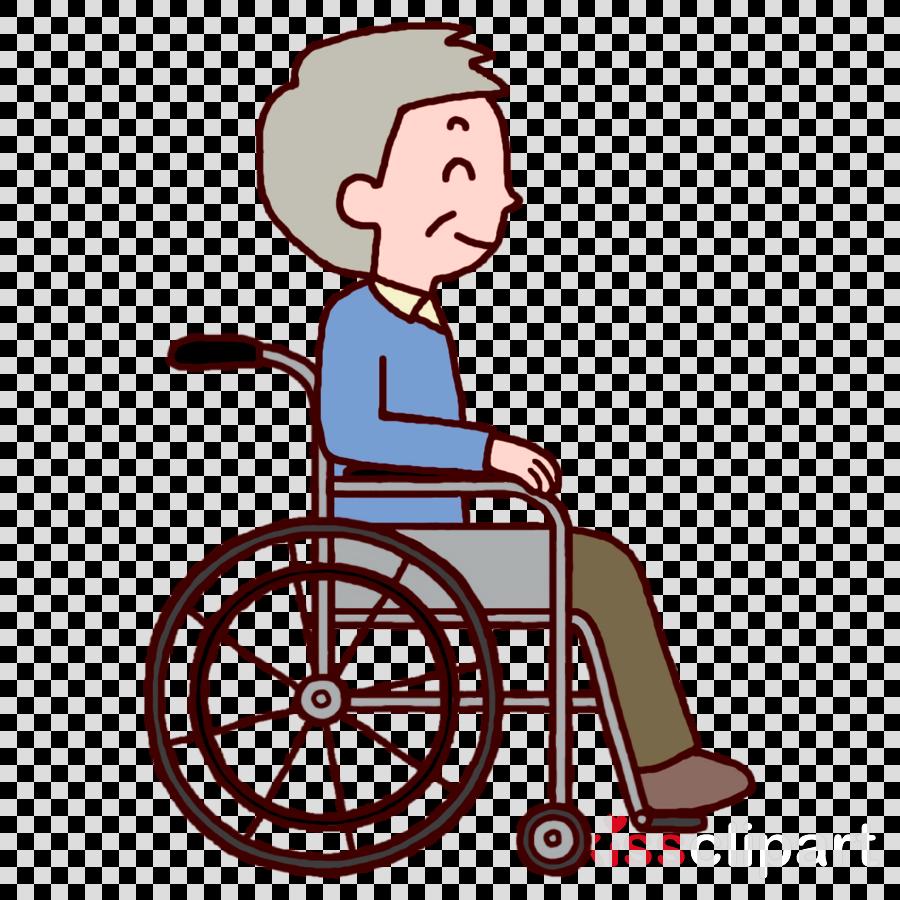older aged wheelchair