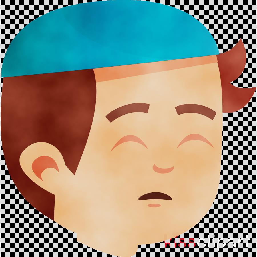 forehead lips headgear