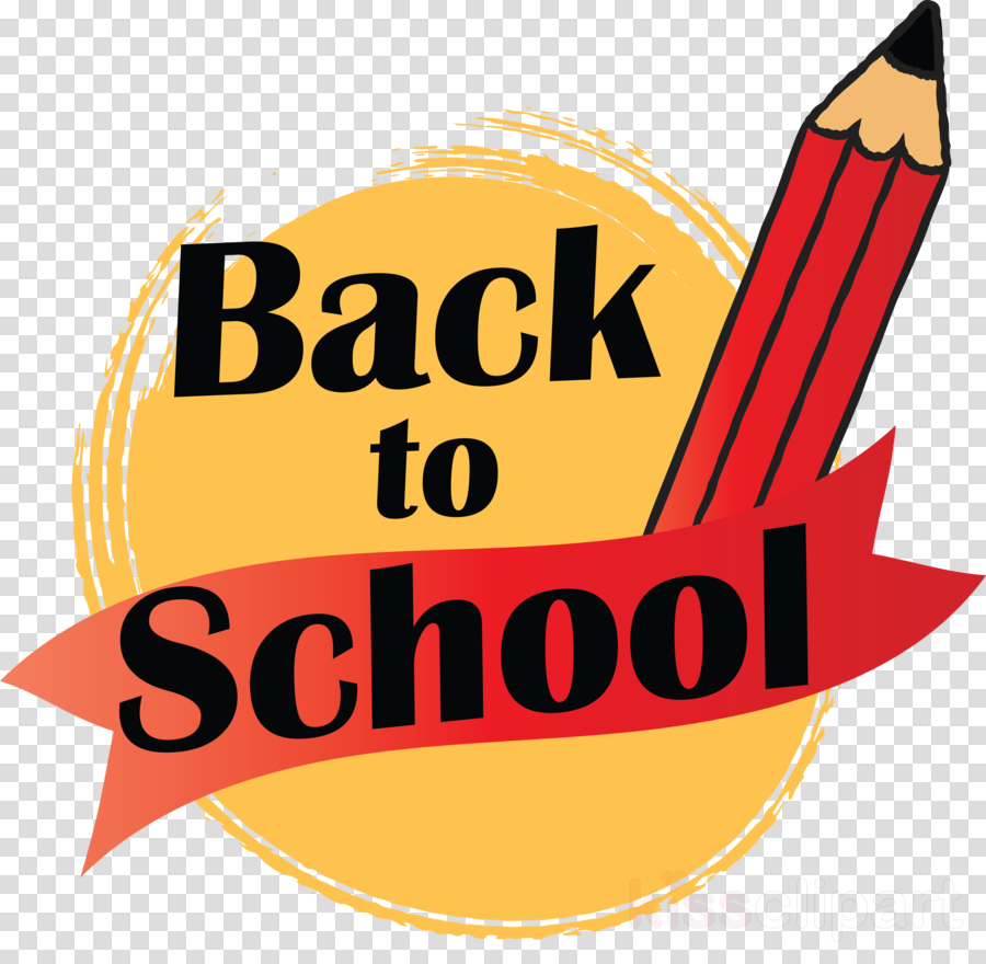 Back To School Clipart Logo Pacha Plage Yellow Transparent Clip Art