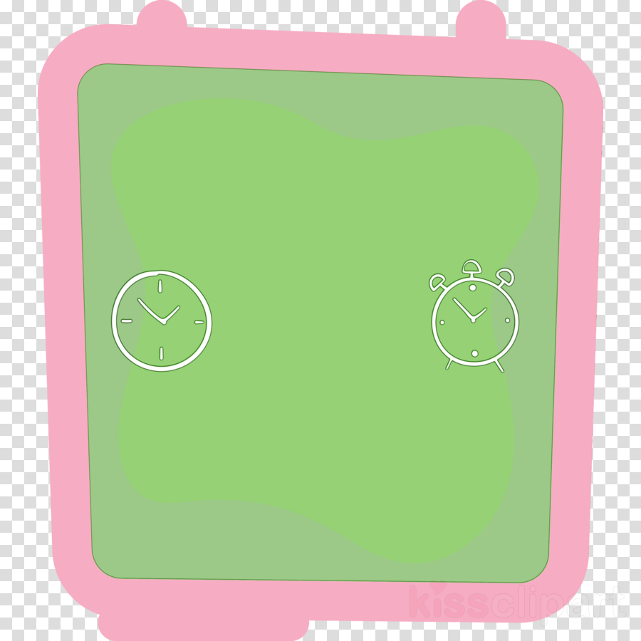 green cartoon font pattern line