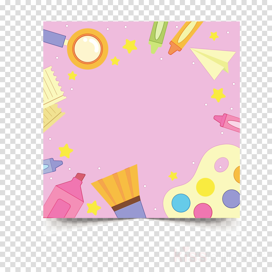 construction paper yellow rectangle petal paper