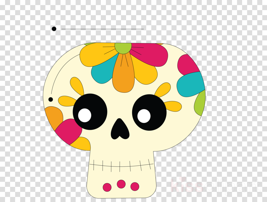 Skull Mexico Sugar Skull traditional skull clipart - Calavera, Day Of The  Dead, La Calavera Catrina, transparent clip art