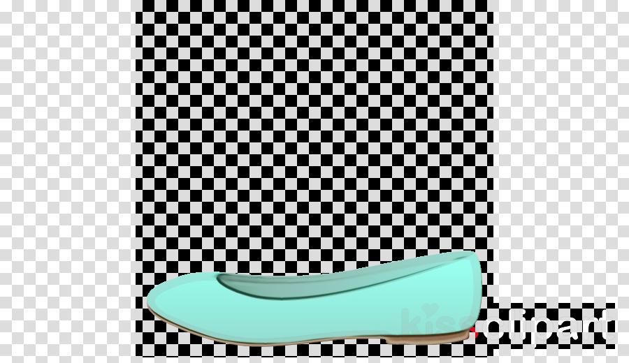 ballet flat shoe walking turquoise ballet