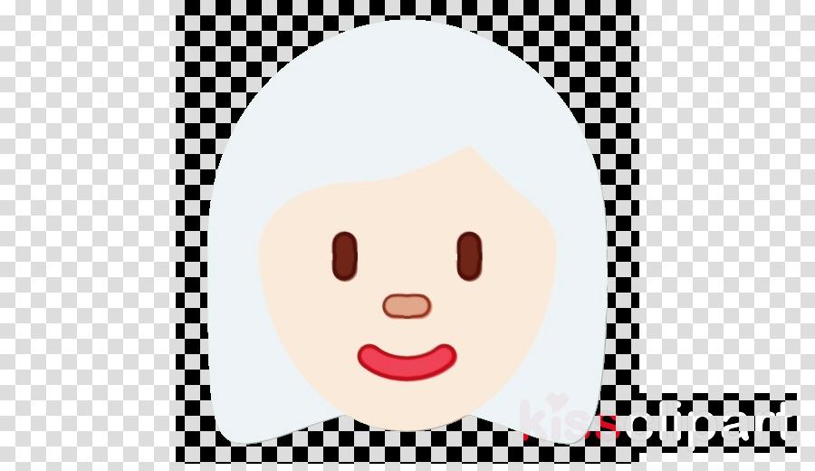 light skin lips forehead cartoon
