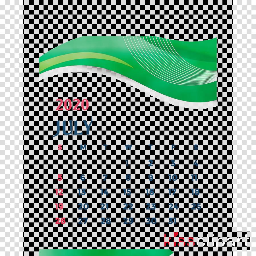 logo font green line calendar system