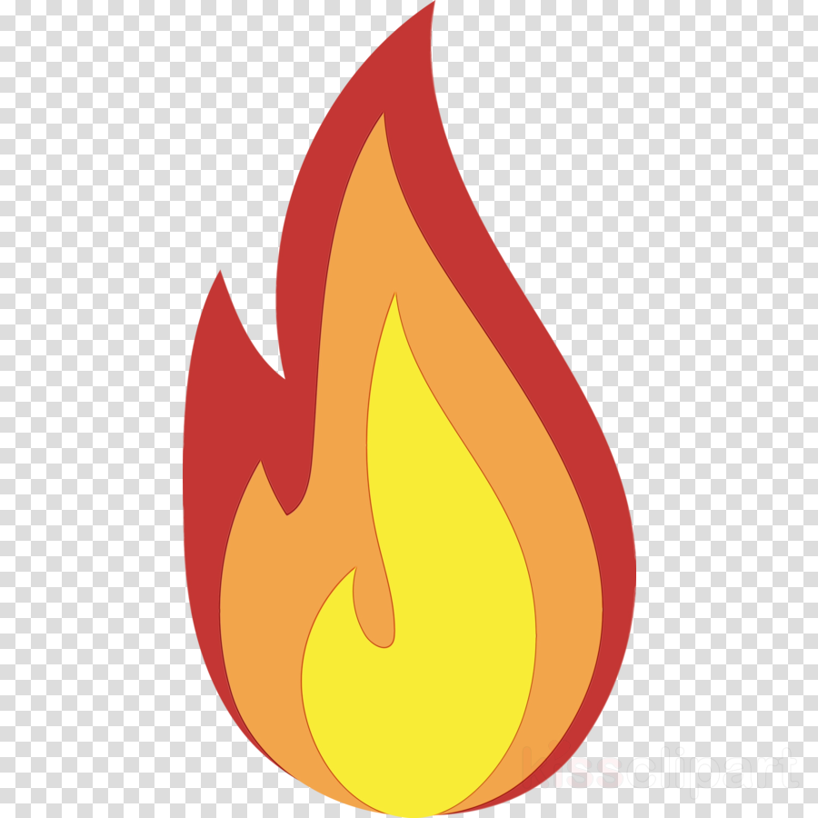 flame fire meter candle logo