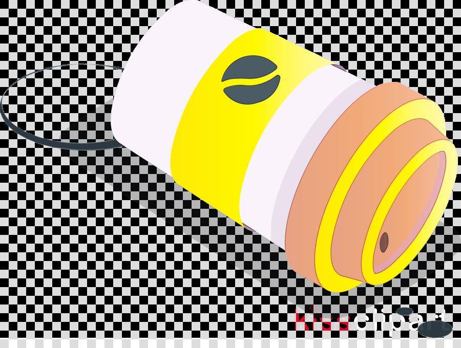 yellow font line meter