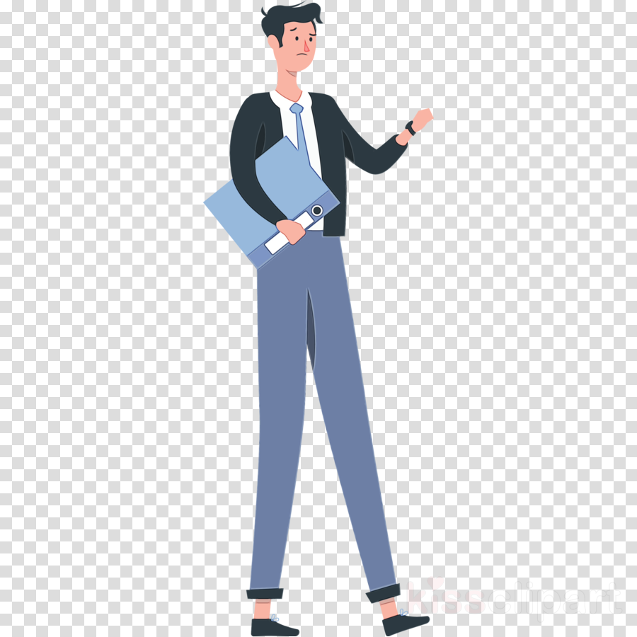 public relations cartoon business uniform shoe