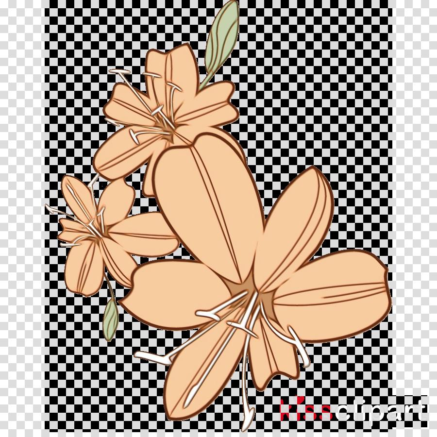 plant stem petal cut flowers flower pattern