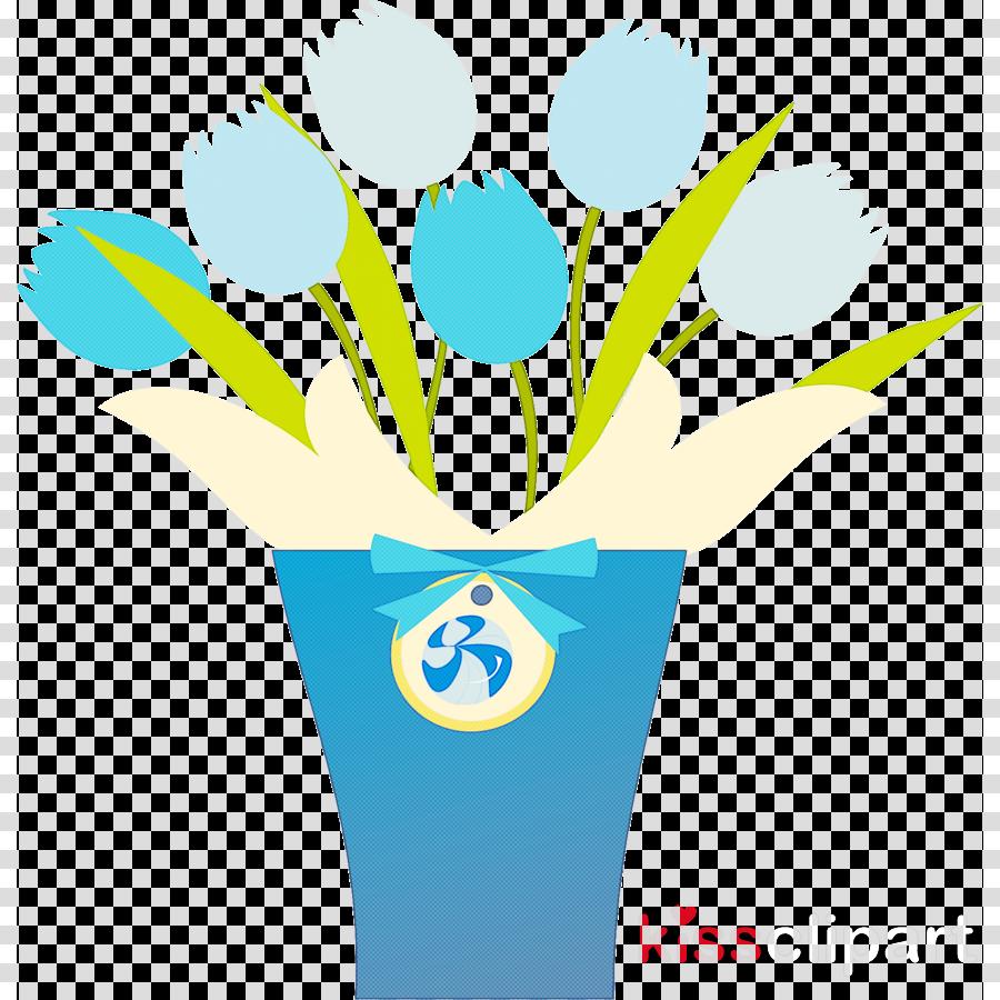 flower plant stem flowerpot logo text