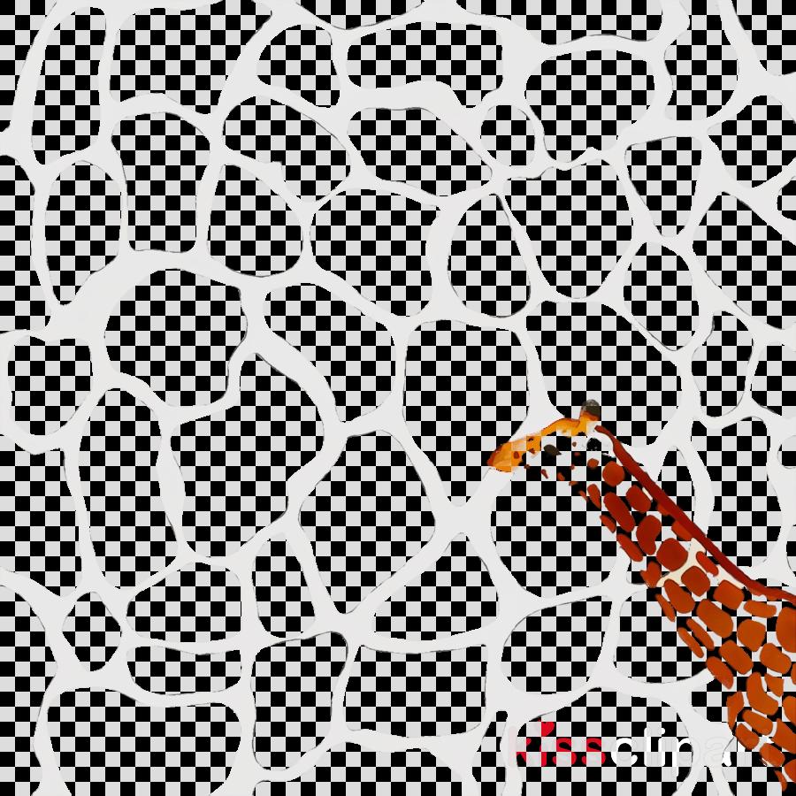giraffe black & white / m pattern line area