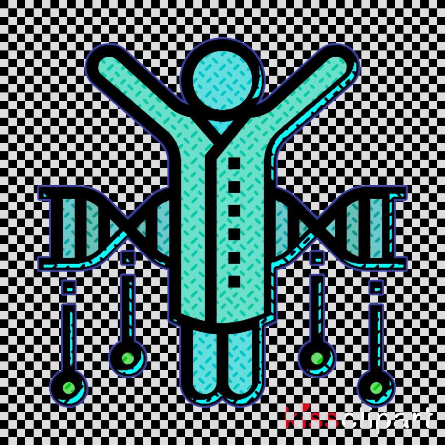 Bioengineering icon Genome icon Scientist icon