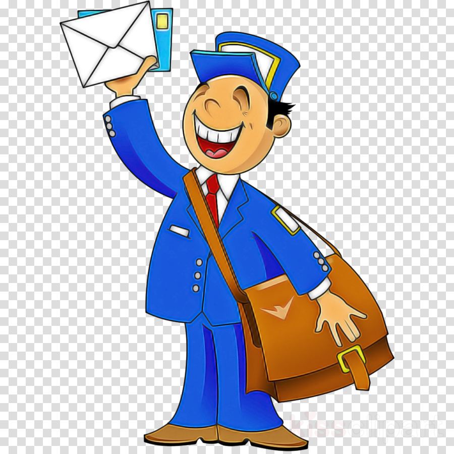mail carrier cartoon drawing mail mail art