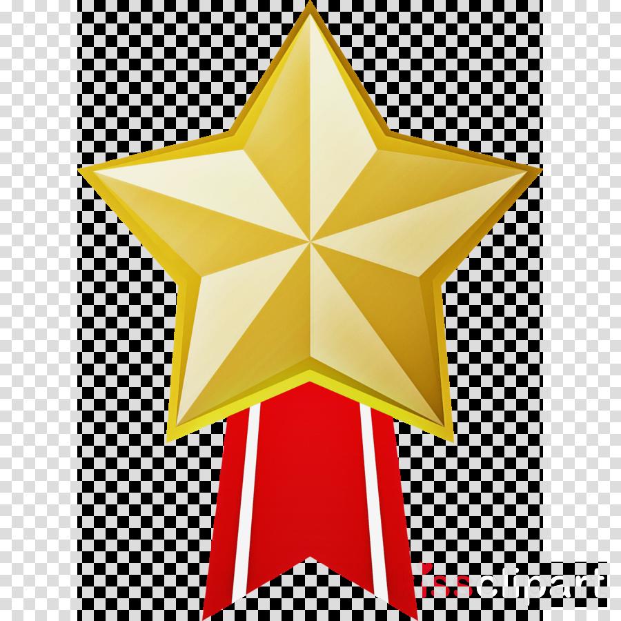 star gold medal badge