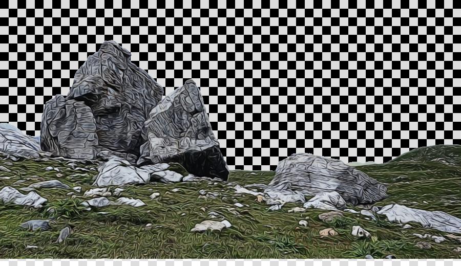 mount scenery glacial landform outcrop boulder m delivery glacier