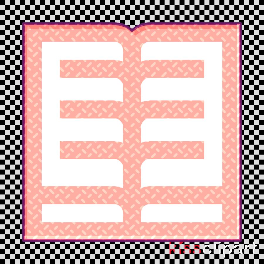 Book icon School icon Open book icon