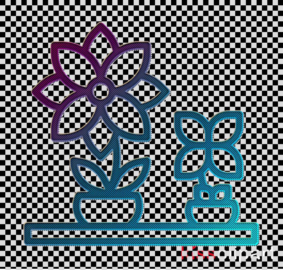 Home Decoration icon Flower pot icon Flower icon