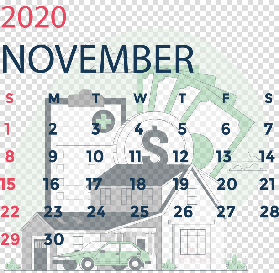 November 2020 Calendar November 2020 Printable Calendar