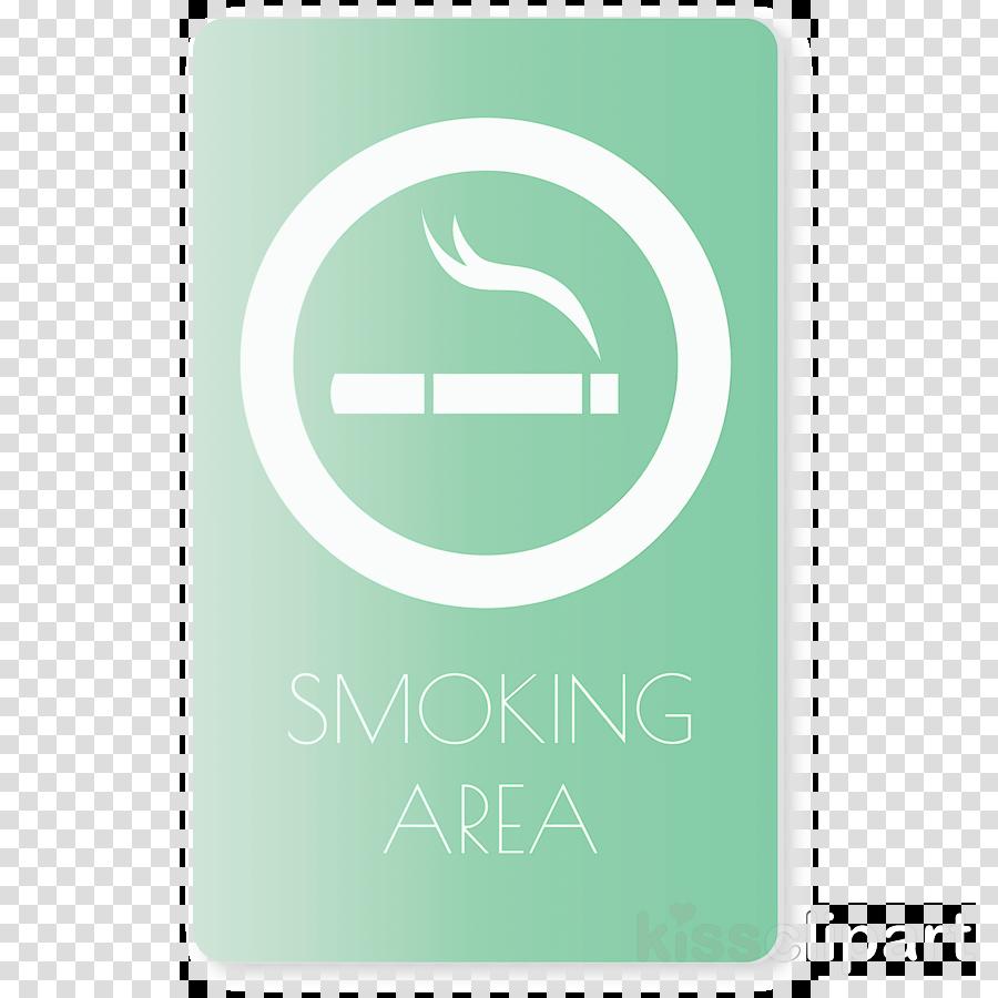smoke area sign