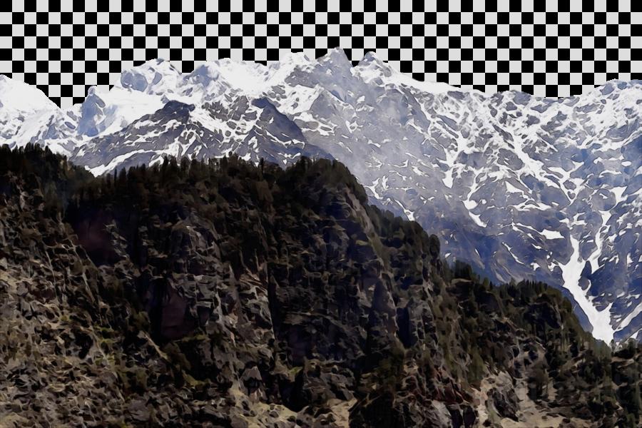 terrain mount scenery mountain range massif valley