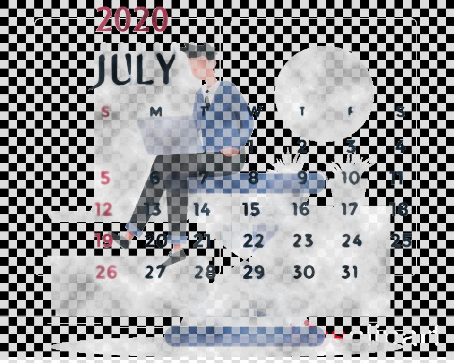 July 2020 Printable Calendar July 2020 Calendar 2020 Calendar