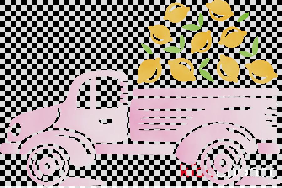 cartoon pink m font meter automobile engineering