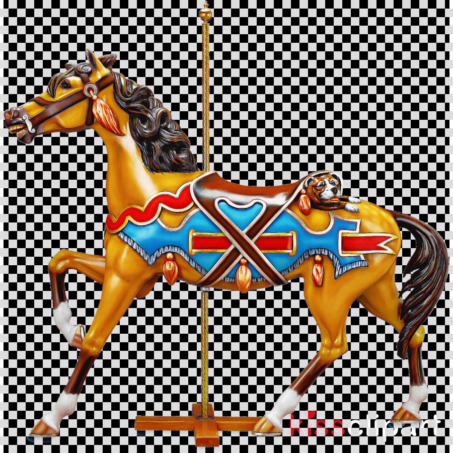 carousel mustang stallion halter horse harness