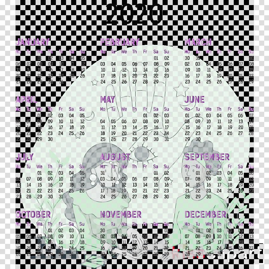 font calendar system purple line meter